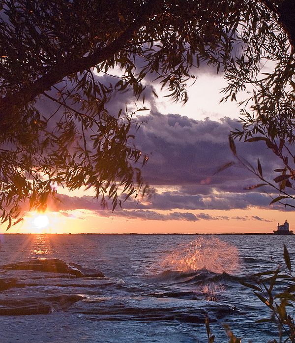 Oswego sunset by Philip Clift